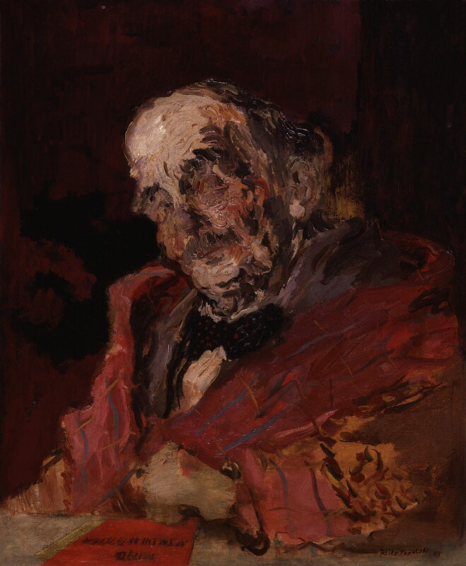 H.G. Wells, by Feliks Topolski, 1943 - NPG 6324 - © estate of Feliks Topolski