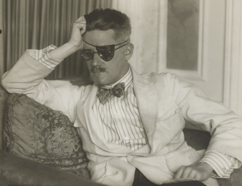James Joyce, by Berenice Abbott, 1926 - NPG P610 - © Berenice Abbott / Commerce Graphics Ltd, Inc.