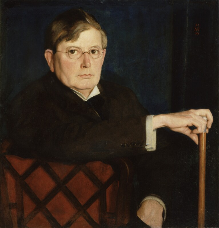 Sir George James Frampton, by Meredith Frampton, 1919 - NPG 6339 - © National Portrait Gallery, London