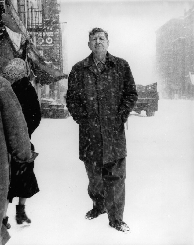 W.H. Auden, by Richard Avedon, 1960 - NPG P614 - © Richard Avedon Foundation