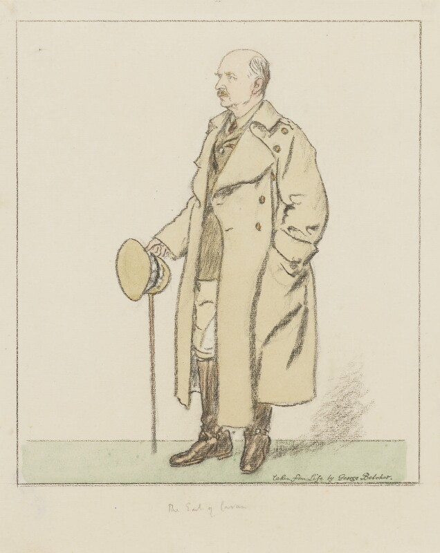 (Frederic) Rudolph Lambart, 10th Earl of Cavan, by George Belcher, 1929 - NPG 6346 - © reserved; collection National Portrait Gallery, London