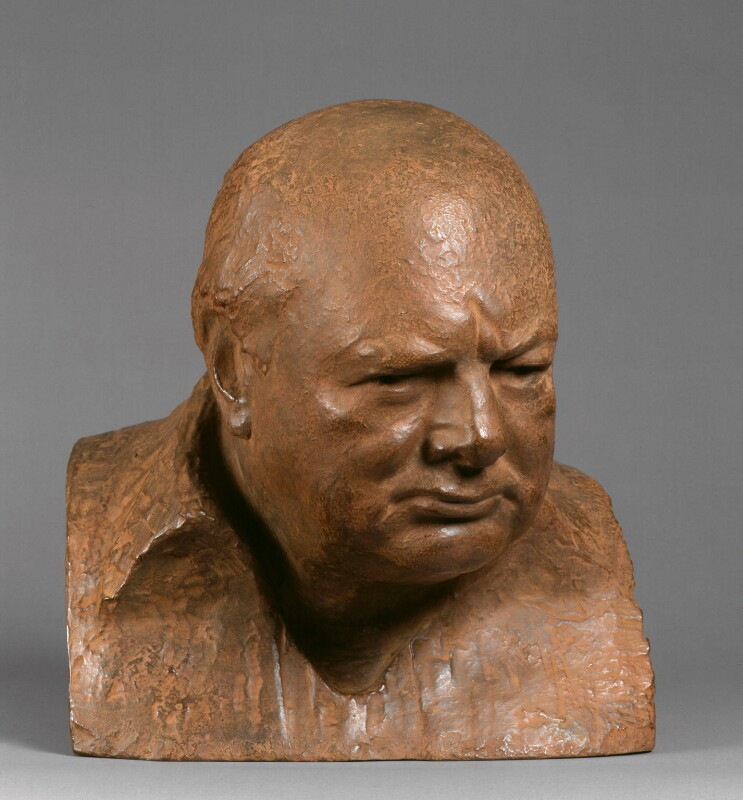Winston Churchill, after Oscar Nemon, 1995, based on a work of circa 1955 - NPG 6347 - Photograph © National Portrait Gallery, London
