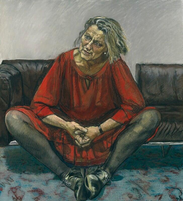 Germaine Greer, by Paula Rego, 1995 - NPG 6351 - © National Portrait Gallery, London