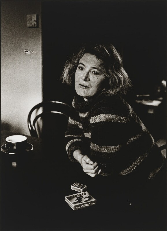 Angela Olive Carter, by Sally Soames, 1981 - NPG P637 - © News International Newspapers Ltd