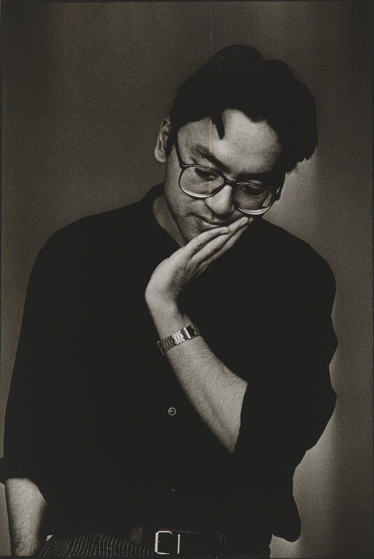 Kazuo Ishiguro, by Sally Soames, 1989 - NPG P642 - © News International Newspapers Ltd