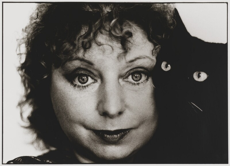 Dame Hilary Mantel, by Sally Soames, 1992 - NPG P645 - © Sally Soames