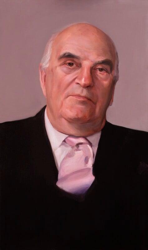 Arthur George Weidenfeld, Baron Weidenfeld, by Paul S. Benney, 1996 - NPG 6360 - © National Portrait Gallery, London