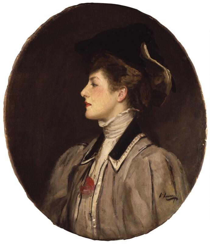Maggie Teyte, by Sir John Lavery, 1907 - NPG 6363 - © National Portrait Gallery, London