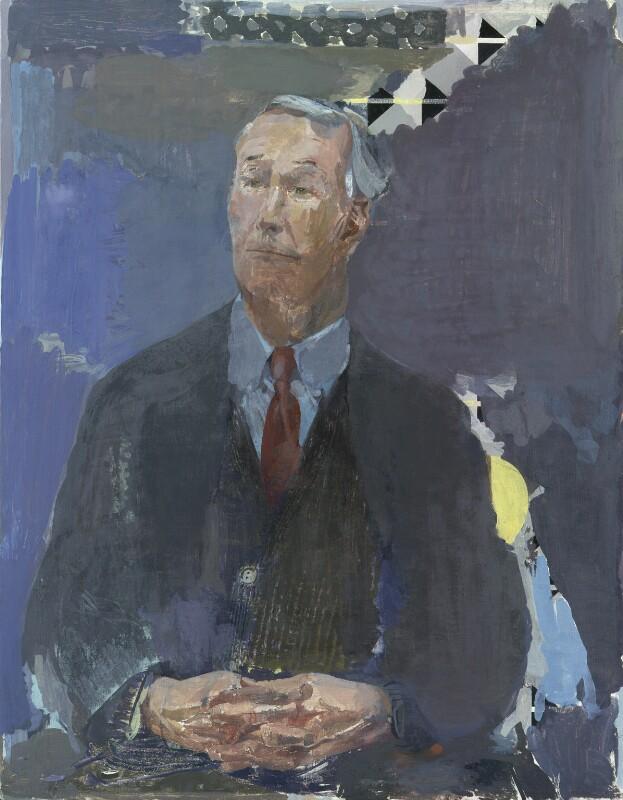 Tony Benn, by Humphrey Ocean (Humphrey Anthony Erdeswick Butler-Bowdon), 1996 - NPG 6371 - © National Portrait Gallery, London