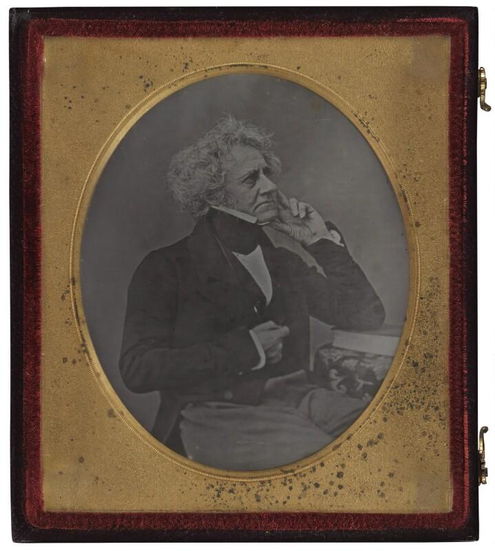 Sir John Frederick William Herschel, 1st Bt, by John Jabez Edwin Mayall, circa 1848 - NPG P660 - © National Portrait Gallery, London