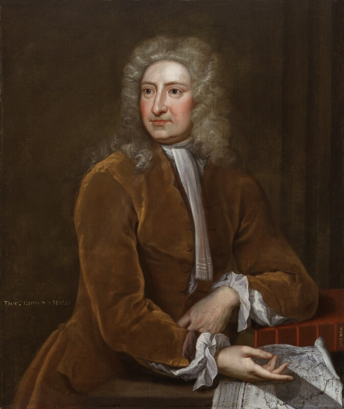Edmond Halley, attributed to Isaac Whood, circa 1720 - NPG 6377 - © National Portrait Gallery, London