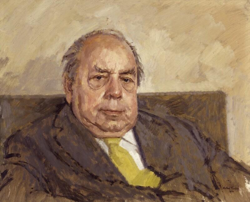 J.B. Priestley, by Michael Noakes, 1970 - NPG 6378 - © Michael Noakes / National Portrait Gallery, London