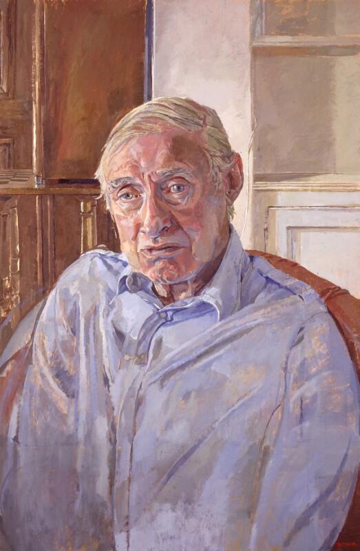 Spike Milligan, by Daphne Todd, 1996 - NPG 6386 - © Daphne Todd / National Portrait Gallery, London