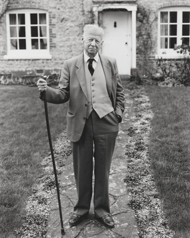 Sir Francis Avery Jones, by Nick Sinclair, 1995 - NPG P665 - © Nick Sinclair