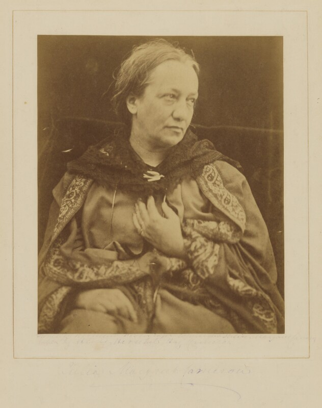 Julia Margaret Cameron, by Henry Herschel Hay Cameron (later The Cameron Studio), circa 1873 -NPG P696 - © National Portrait Gallery, London