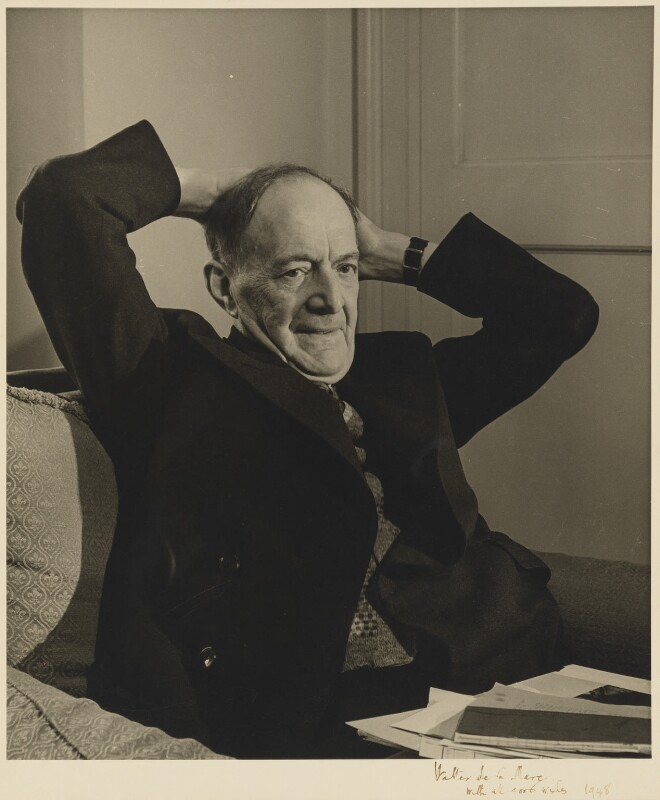 Walter de la Mare, by John Gay, 1948 - NPG P701 - © National Portrait Gallery, London