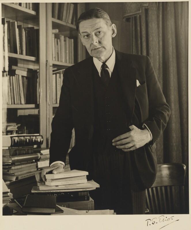 T.S. Eliot, by John Gay, 1948 - NPG P702 - © National Portrait Gallery, London