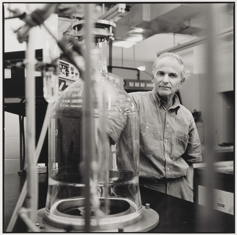 Sir Harold Walter Kroto, by Nicholas Sinclair, 1997 - NPG P704 - © Nicholas Sinclair / DACS