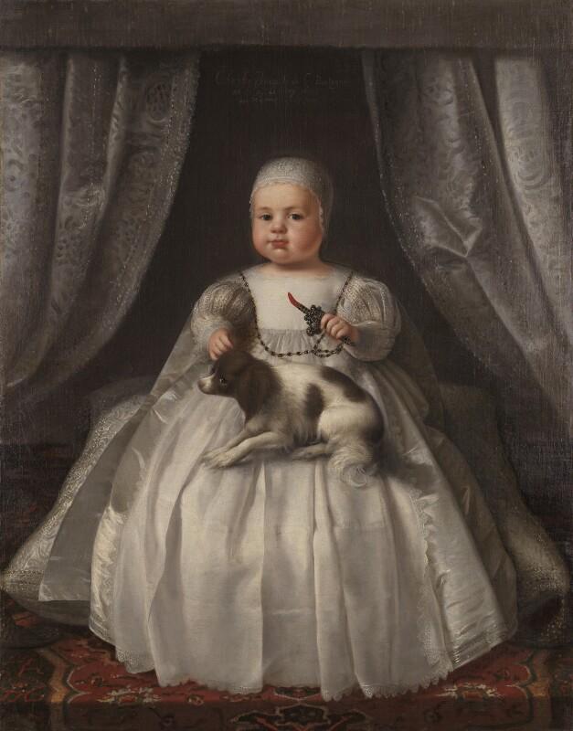 King Charles II, by Unknown artist, 1630 - NPG 6403 - © National Portrait Gallery, London