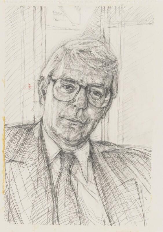 John Major, by John Wonnacott, 1997 - NPG 6410(5) - © National Portrait Gallery, London