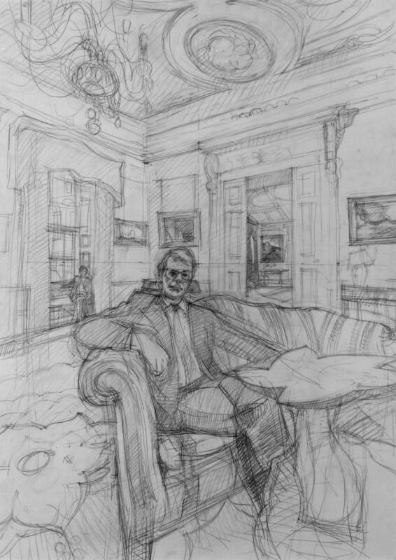 John Major, by John Wonnacott, 1997 - NPG 6410(6) - © National Portrait Gallery, London