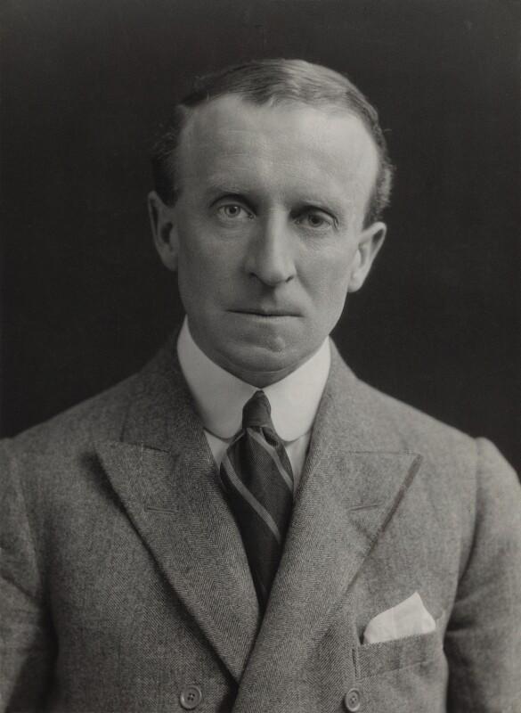 John Buchan, 1st Baron Tweedsmuir, by Elliott & Fry, 1920s - NPG x86536 - © National Portrait Gallery, London