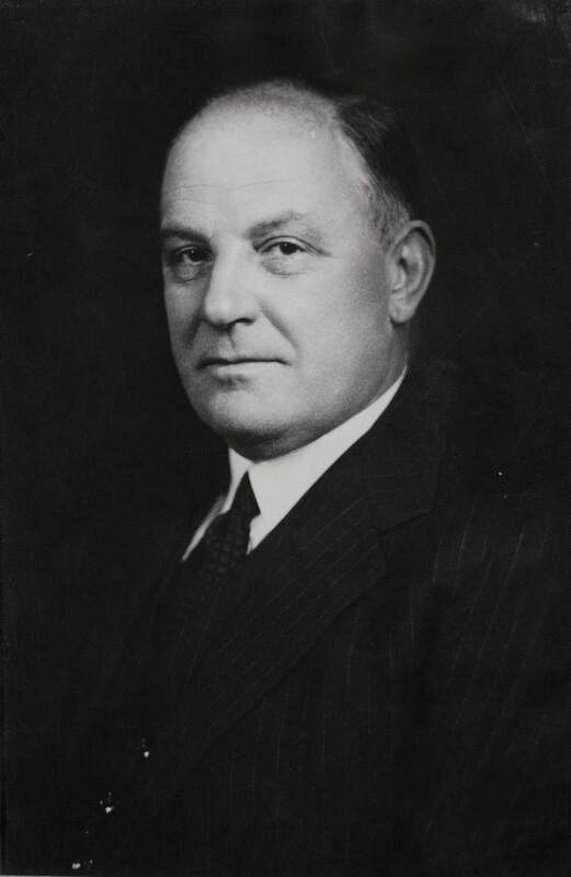 Sir Harold Beresford Butler, by Elliott & Fry, 5 August 1947 - NPG x86571 - © National Portrait Gallery, London