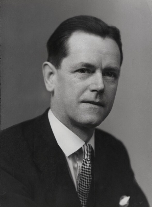 Sir David Arnold Scott Cairns, by Elliott & Fry, 1954 - NPG x86592 - © National Portrait Gallery, London