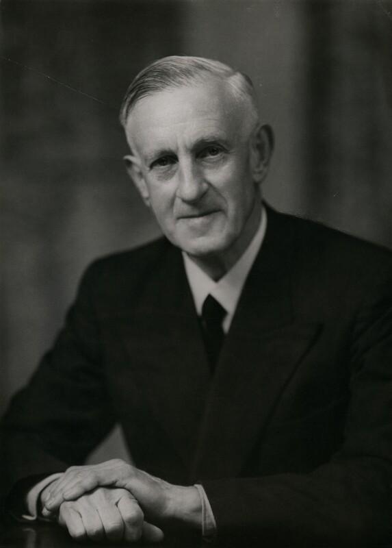 Sir Robert Christopher Chance, by Elliott & Fry, 5 May 1952 - NPG x86659 - © National Portrait Gallery, London