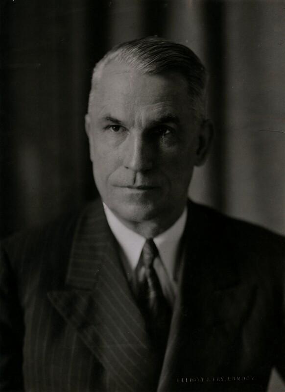 James E. Chaney, by Elliott & Fry, 1942 - NPG x86664 - © National Portrait Gallery, London