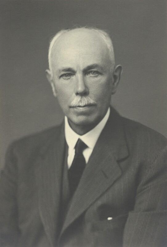 Francis William Aston, by Walter Stoneman, May 1943 - NPG x87056 - © National Portrait Gallery, London