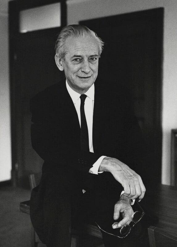 Sir Walter Adams, by Godfrey Argent, 1 July 1969 - NPG x88182 - © National Portrait Gallery, London