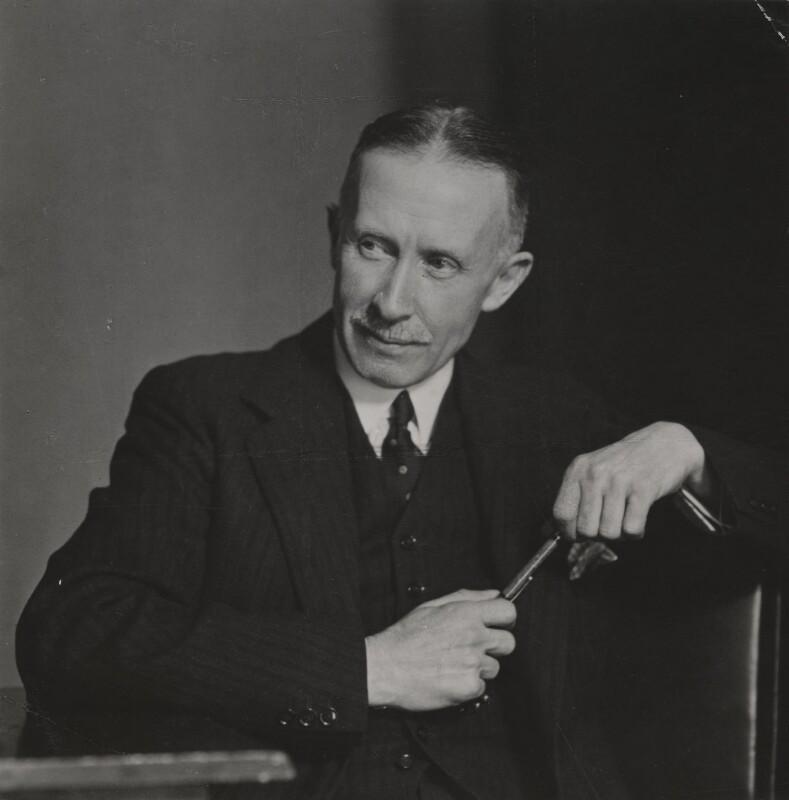 John William Dunne, by Elliott & Fry,  - NPG x89112 - © National Portrait Gallery, London