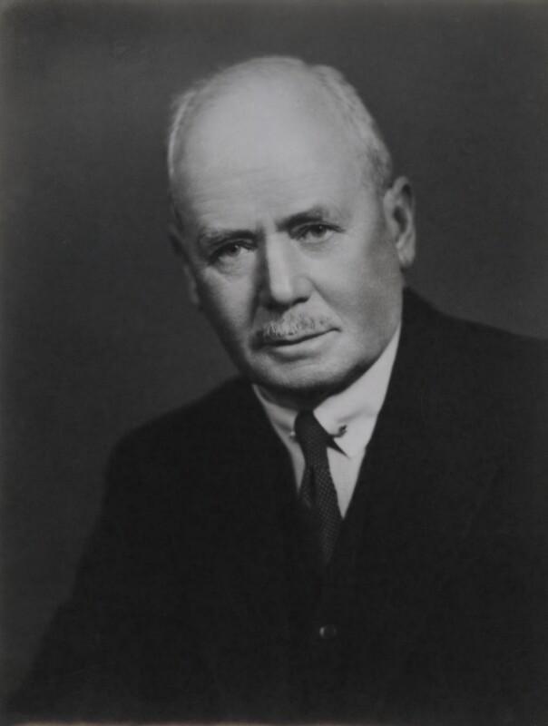 Sir Lionel Goodenough Taylor, by Elliott & Fry, 1942 - NPG x89441 - © National Portrait Gallery, London