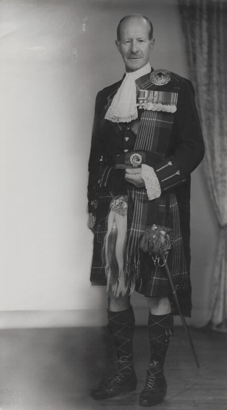 Dudley Gladstone Gordon, 3rd Marquess of Aberdeen and Temair, by Elliott & Fry, 1950s - NPG x89449 - © National Portrait Gallery, London