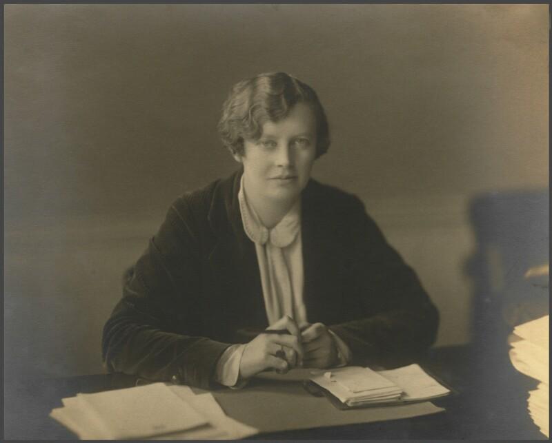 Margaret Ethel ('Storm') Jameson, by Walter Benington, for  Elliott & Fry, 1920s - NPG x89974 - © National Portrait Gallery, London