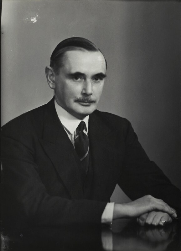Sir Evan Meredith Jenkins, by Elliott & Fry, 15 February 1946 - NPG x90001 - © National Portrait Gallery, London