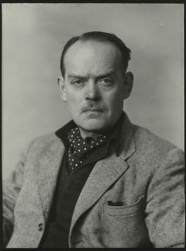 Maurice Lambert, by Elliott & Fry, 28 April 1952 - NPG x90182 - © National Portrait Gallery, London