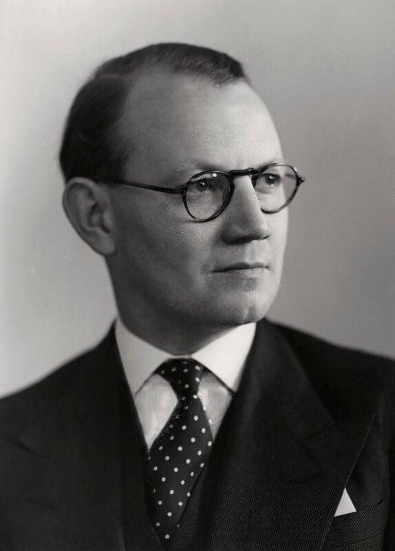 Austin Richard William ('Toby') Low, 1st Baron Aldington, by Elliott & Fry, 1950 - NPG x90362 - © National Portrait Gallery, London