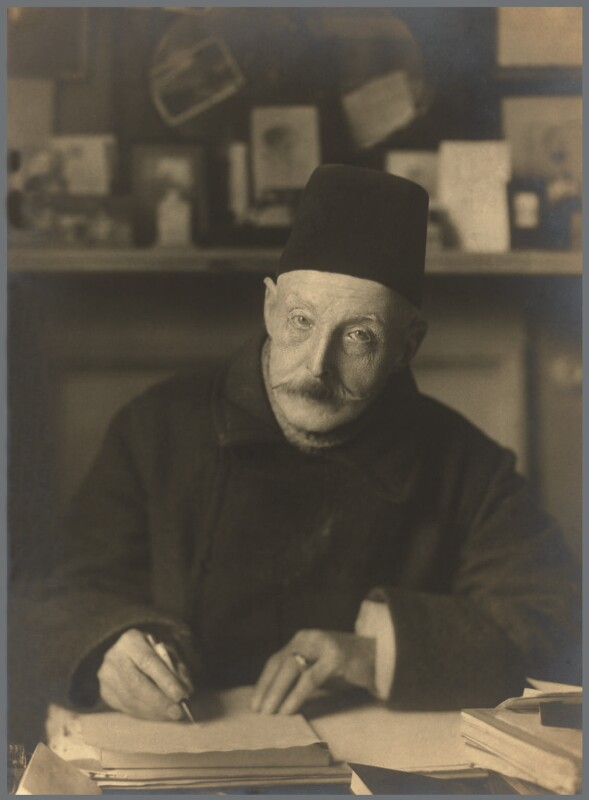 George Brown Burgin, by Walter Benington, for  Elliott & Fry, 1930s - NPG x90654 - © National Portrait Gallery, London