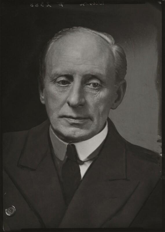 Charles McMoran Wilson, 1st Baron Moran, by Elliott & Fry, 1943 - NPG x90732 - © National Portrait Gallery, London