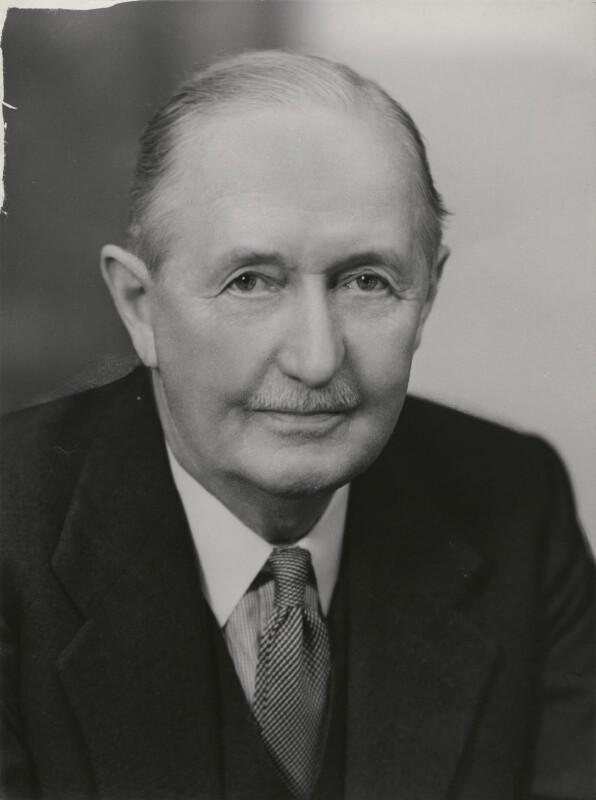 Sir Victor Ewings Negus, by Elliott & Fry, 1956 - NPG x90762 - © National Portrait Gallery, London