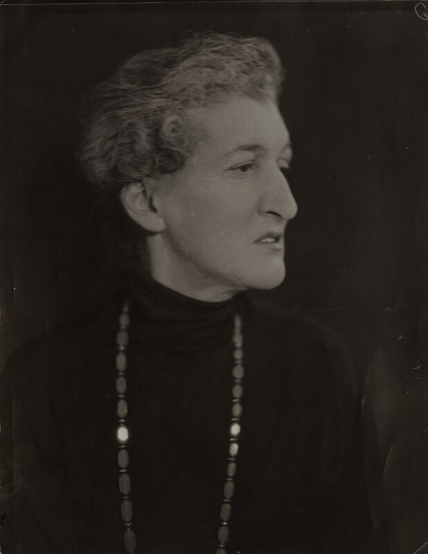 Margaret Emma Alice ('Margot') Asquith (née Tennant), Countess of Oxford and Asquith, by Elliott & Fry,  - NPG x90783 - © National Portrait Gallery, London