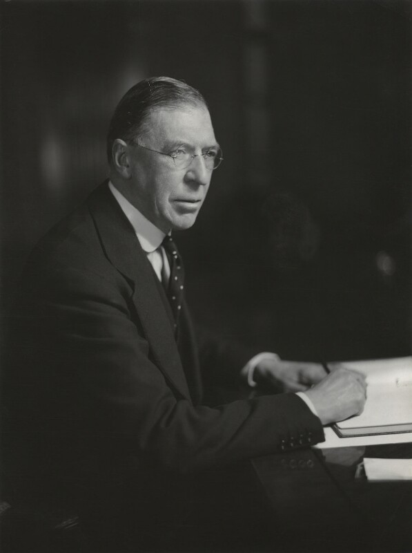 Sir Eustace Ralph Pulbrook, by Elliott & Fry,  - NPG x91051 - © National Portrait Gallery, London