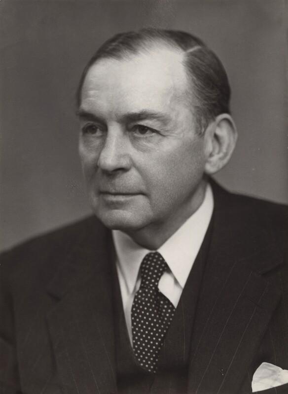 Sir Walford Hollier Turner, by Elliott & Fry, 11 May 1951 - NPG x91549 - © National Portrait Gallery, London