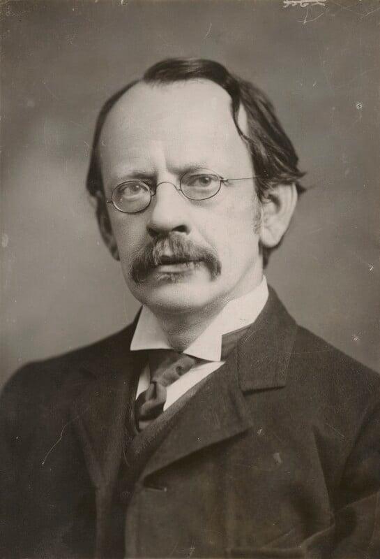 Sir Joseph John Thomson, by Elliott & Fry, circa 1910 - NPG x91564 - © National Portrait Gallery, London