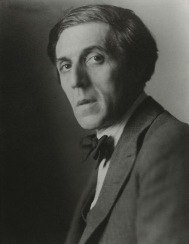Humbert Wolfe, by Walter Benington, copy by  Elliott & Fry, 1920s - NPG x91836 - © National Portrait Gallery, London