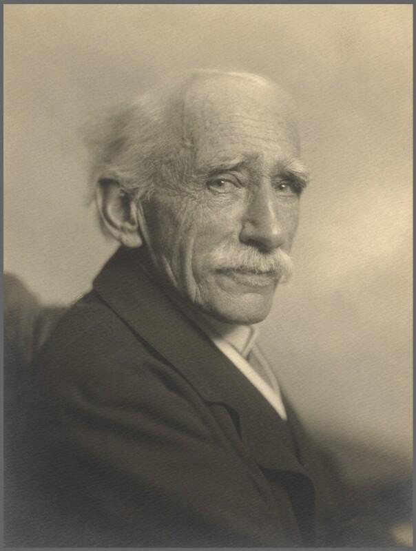 Sir (John) Ambrose Fleming, by Walter Benington, for  Elliott & Fry, February 1932 - NPG x91858 - © National Portrait Gallery, London