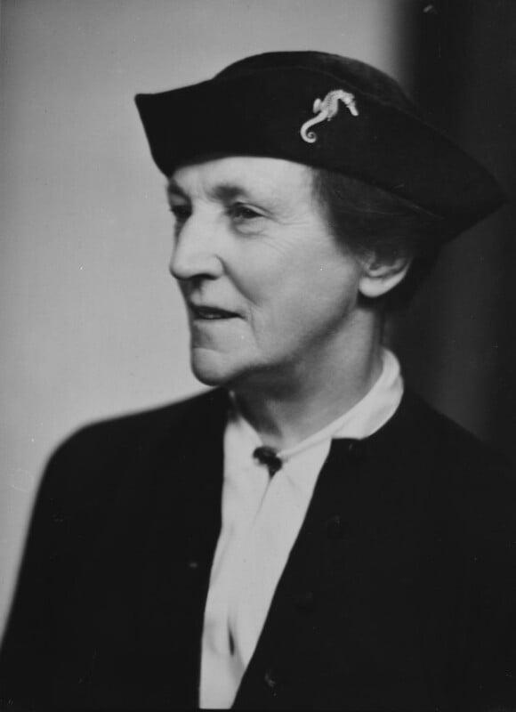 Dame Katharine Furse, by Elliott & Fry, February 1935 - NPG x92100 - © National Portrait Gallery, London