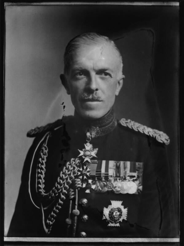 Sir Harold Ben Fawcus, by Elliott & Fry, 8 January 1948 - NPG x92730 - © National Portrait Gallery, London